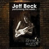 Jeff Beck - Live At Ronnie Scott's CD 2008 NEW