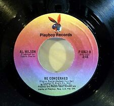 Al Wilson: I've Got a Feeling (we'll be seeing..) / Be Concerned [Unplayed Copy]
