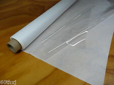 "SUPER CLEAR PLASTIC / VINYL SHEETING FOR WINDOWS 54""x 30yds x 10 MIL"