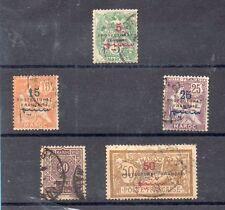 Marruecos Frances Valores del año 1914-21 (CD-445)