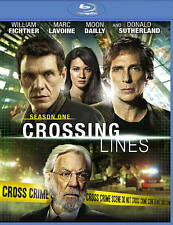Crossing Lines (Blu-ray Disc, 2014, 3-Disc Set) Donald Sutherland FREE shipping