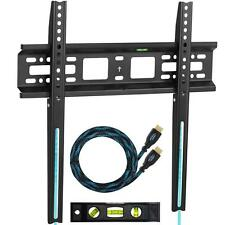 TV Wall Mount Flat Bracket LED LCD Plasma 22 26 28 29 32 37 39 40 42 46 48 50 55