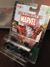 ULTIMATE MARVEL METAL DIECAST ROGUE PLYMOUTH PROWLER 1:64 RARE SERIES #1