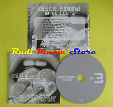 CD DISCO SOUND 70-80 VOL 3 compilation CHANGE MOON RAY CARA (C2)no lp mc dvd vhs
