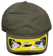 NEW! Electronic Contiguous Beam Velcro Back Cap With High Beam Bill Light Hat