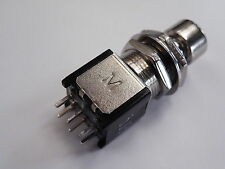 Latching foot switch dpdt guitare clavier effets groupe etc ER02