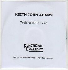 (EP896) Keith John Adams, Vulnerable - 2013 DJ CD