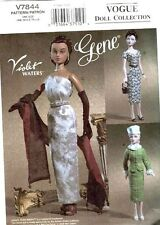 "VOGUE 7844 OOP VINTAGE 1952-53 15½"" Fashion Doll CLOTHING Pattern"