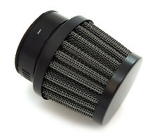 Small Black Motorcycle Air Filter Pod - 39mm - Honda CB500 CB550 CB550 CB750