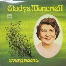 Gladys Moncrieff(Vinyl LP)Evergreens-Columbia-OEX 9833-Australia-Ex/NM