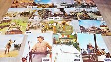PATTON ! George-C. Scott  jeu 16 photos cinema lobby cards 1969