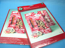 Wilton Cookie Exchange Christmas Holiday Tent Box Kit Lot of 2 Total 6 Boxes