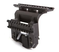 SVD, Tigr to Weaver Mount, Low Profile, Centered, w/ Tactical Rail. BelOmo. LONG