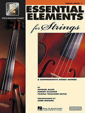 ESSENTIAL ELEMENTS FOR STRINGS VIOLIN BOOK 1 W/ONLINE ACCESS BRAND NEW ON SALE!!