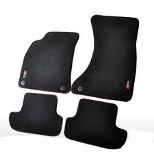Solid Nylon Auto Odorless Floor Mats Liner Carpet Fitted For AUDI S5 2 door