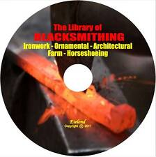 Blacksmith Farm Horseshoe Metal Work Welding Forge Wrought Iron Temper on CD DVD