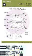 Bestfong Decals 1/72 NORTHROP T-38A TALON Republic of China Air Force