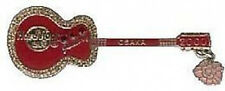 Hard Rock Cafe OSAKA 2000 JANUARY Calendar Guitar PIN