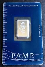 SEALED PAMP SUISSE ROSE 2.5g SILVER BAR,  FREE COMBINED S/H