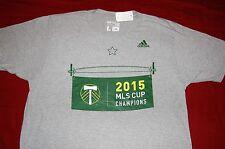 Portland Timbers T-shirt Adidas MLS Champions - Mens Size: L - NEW