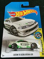 Hot Wheels 2017 #31/365 CUSTOM '01 ACURA INTEGRA GSR   HOT ITEM