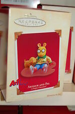 Hallmark 2003 Arthur and Pal Perfect Christmas Dog Tv Cartoon Ornament