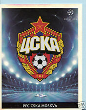 Football Sticker- Panini Uefa Champions League 2009-10 - No 90 - CSKA Moskva
