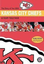 NFL Team Highlights - 2003-2004 Kansas City Chiefs (DVD, 200) A Team Together