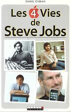 DANIEL ICHBIAH LES 4 VIES DE STEVE JOBS APPLE + PARIS POSTER GUIDE