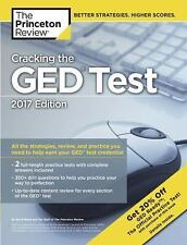 College Test Preparation: Cracking the GED Test with 2 Practice Tests, 2017...
