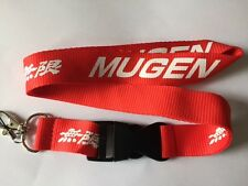 Honda Mugen Lanyard NEW Red  - UK Seller - Car Keyring ID Holder Phone Strap