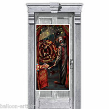 1.65m Halloween CREEPY CARNIVAL Party SIDE SHOW Door Poster Banner Decoration