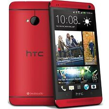 HTC One M7 - 32GB - Red/Silver/Gold/Black (Unlocked) Smartphone seal pack