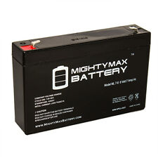 Mighty Max 6V 7Ah SLA Battery for Kid Trax Avigo Quad KT1042TR / KT1051TR