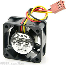 San Ace 109P0412H620 40x40x20mm DC 12V 0.11A 3Pin Chassis Cooling Fan