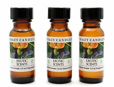 3 Exotic Scents AN (Ed Hardy for Men Type) 1/2oz Premium Grade Fragrance Oil