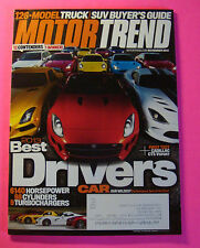 MOTOR TREND NOV/2013....BEST DRIVERS: WILDEST PERFORAMNCE TEST OF THE YEAR