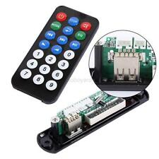 Remote USB Memory FM MP3 Control Audio Player Module WMA Board TF Plastick Black