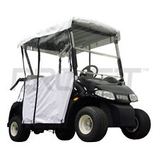 2 Pass Enclosure for EZGO RXV Golf Carts in White   PF11354