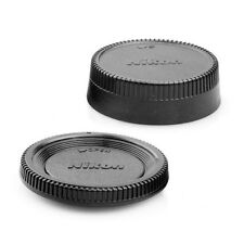 5pcs Camera Body Cap + Rear Lens Caps for Nikon DSLR SLR AI AF