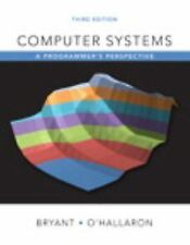 NEW Computer Systems by Randal E. Bryant (3rd Edition) (Global Edition)