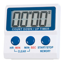 Digital hour/minutes and minutes/seconds timer - count-up or count-down