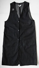 martin margiela DENIM LONG VEST jacket it42 usa 6 NEW mm6