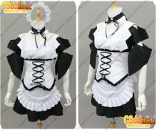 Misaki Ayuzawa from Maid Sama! cosplay costume lolita black & white MM99