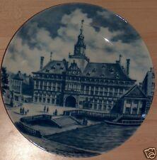 Andenkenporzellan Sammelteller Emden Rathaus Kaiser  Ostfriesland  blau Graepel