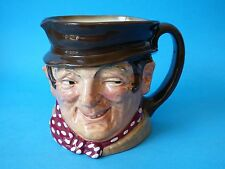 COLLECTABLE LARGE VINTAGE DICKENS CHINA ROYAL DOULTON SAM WELLER CHARACTER JUG