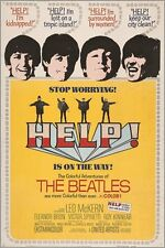 HELP vintage movie poster THE BEATLES MUSIC 1965 mccartney lennon 24X36 GEM