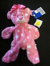 NWT Build A Bear 2012 unstuffed pink Minnie Mouse inspired bear sound chip