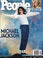 Michael Jackson Farewell Tribute/Farrah Fawcett - July 13, 2009 People Magazine