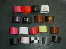 LEATHER WOGGLE,ADD YOUR INITIAL / NUMBER or JUST PLAIN COLOUR